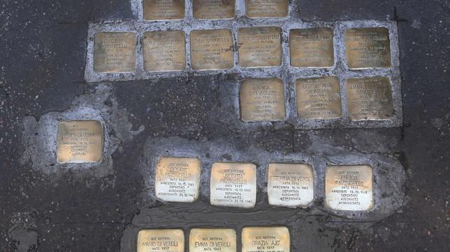 Giorno della Memoria, 21 pietre d'inciampo a Roma in ricordo delle vittime della Shoah