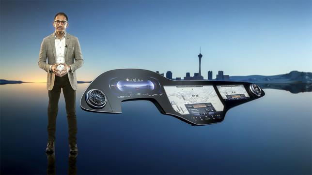 L'hyperscreen per anticipare il futuro in auto