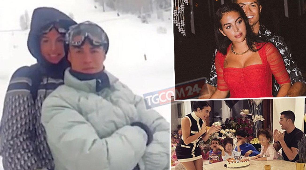 Cristiano Ronaldo festeggia Georgina e se ne infischia delle regole anti-Covid