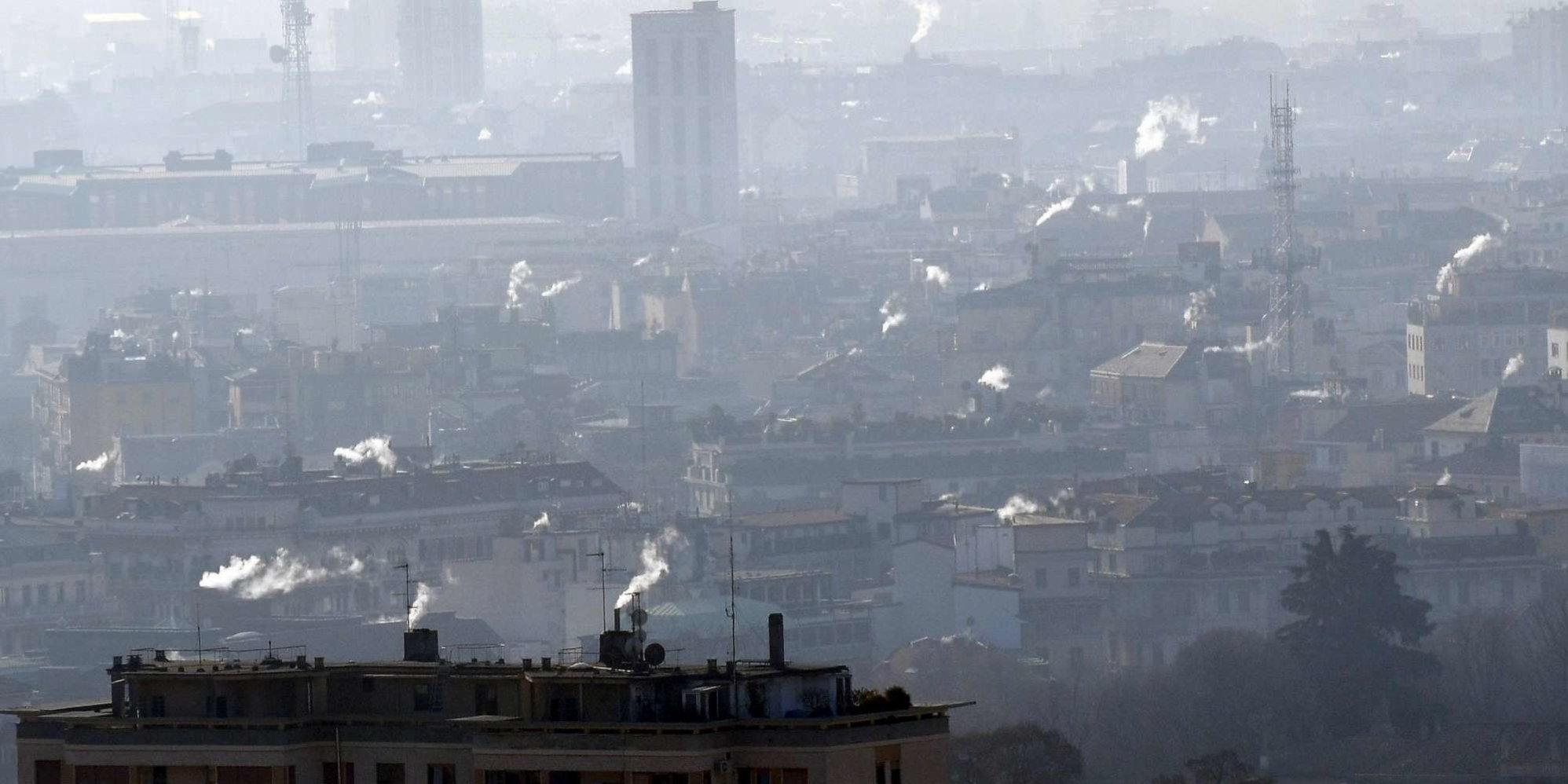 Smog, Legambiente: 35 città