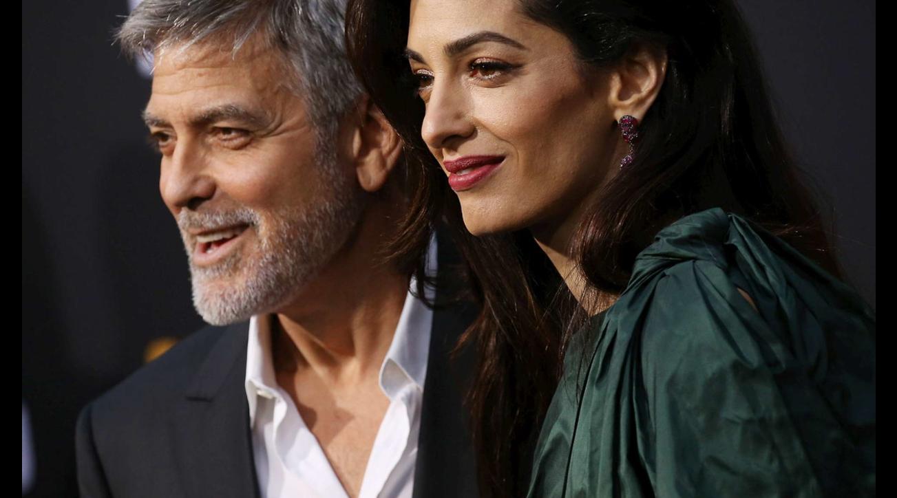 George Clooney e Amal Alamuddin, che coppia d'altri tempi