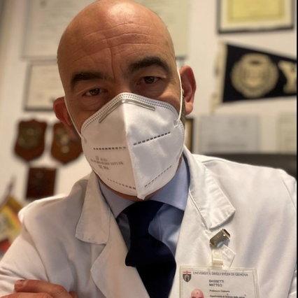 Bassetti, amenazas de muerte de no-vax: interviene Digos