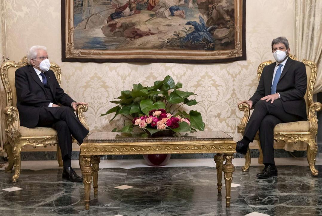 Governo, Roberto Fico al Quirinale da Sergio Mattarella