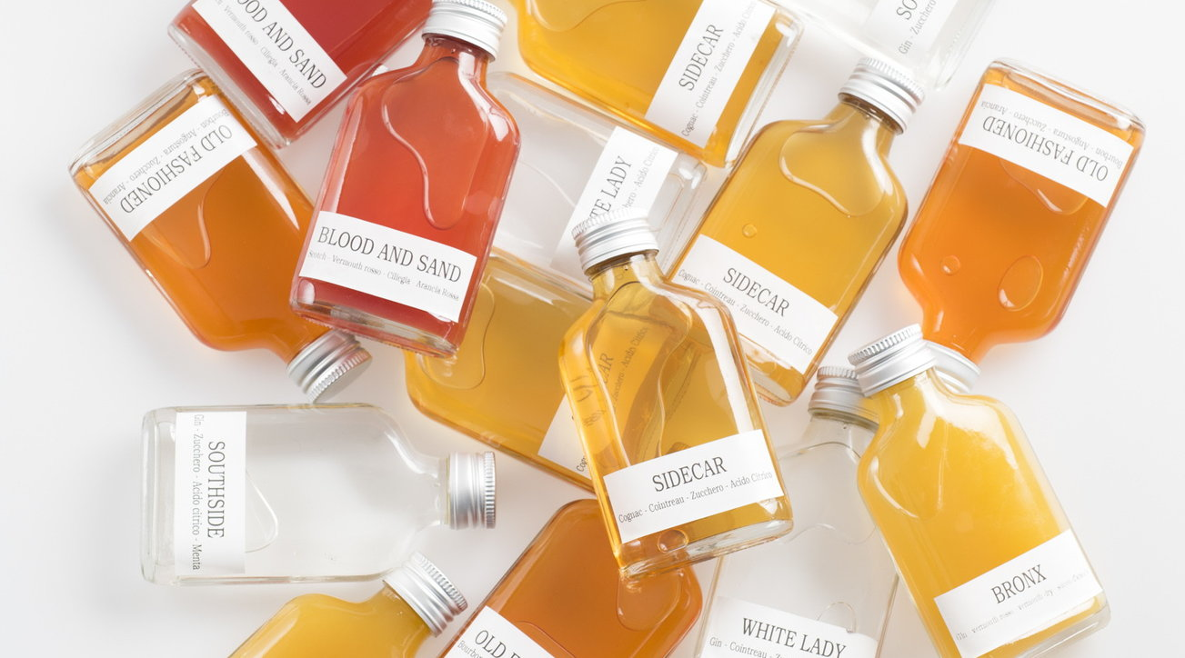 Cocktail drinkeasy ispirazione Proibizionismo