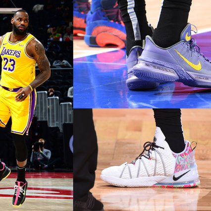 Fashion, men's sneakers 2021: 10 top models to copy from LeBron James
