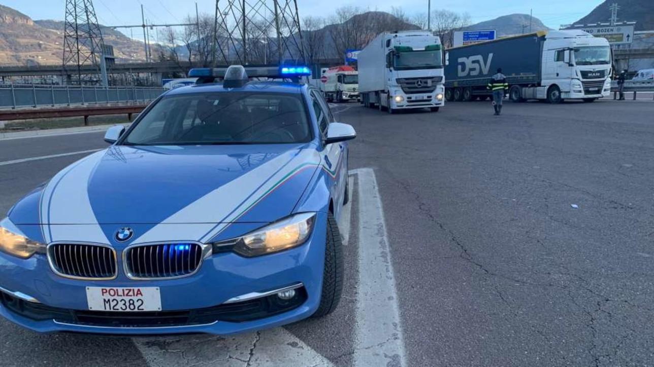 Richiesto dall'Austria il test anti-Covid, camionisti in coda al Brennero