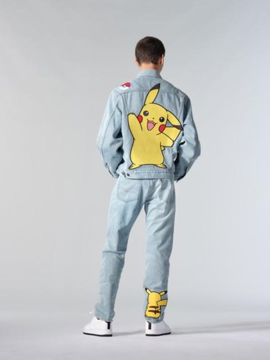 Moda, jeans primavera 2021: la collezione Levi's x Pokémon