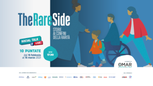 Part #TheRAREside, an online talk show to reveal the unknown side of rare diseases