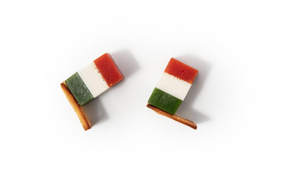 Chef Riccardo Bassetti e la ricetta Tricolore