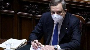 Il governo Draghi si presenta alla Camera dei deputati per la fiducia