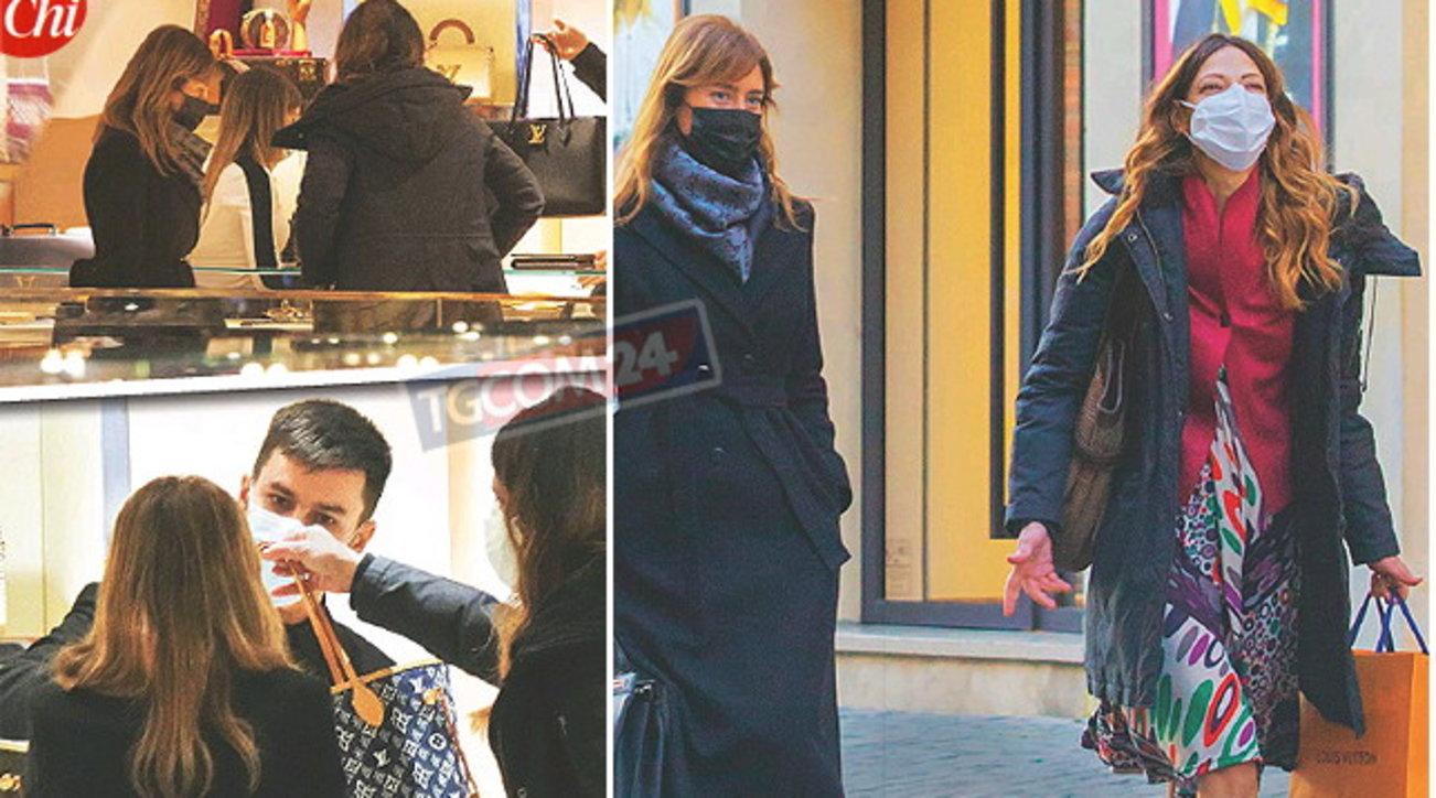 Maria Elena Boschi ritorna in grande stile, guarda che shopping di lusso!