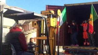 Dall'Abruzzo al Senegal: il Covid non ferma il container di aiuti sanitari e scolastici