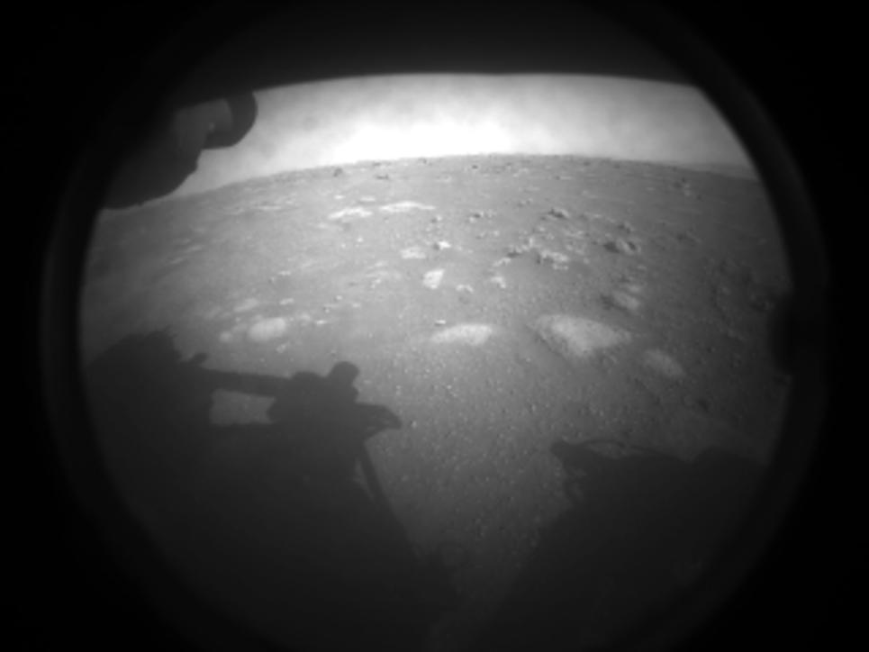 Da Marte le prime immagini inviate dal roverPerseverance