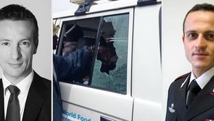 Uccisiin Congo l'ambasciatore italiano Luca Attanasioe un carabiniere