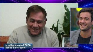 """""""GF Vip"""", la sorpresa di nonno Rocco a Pierpaolo: """"Per noi hai già vinto"""""""
