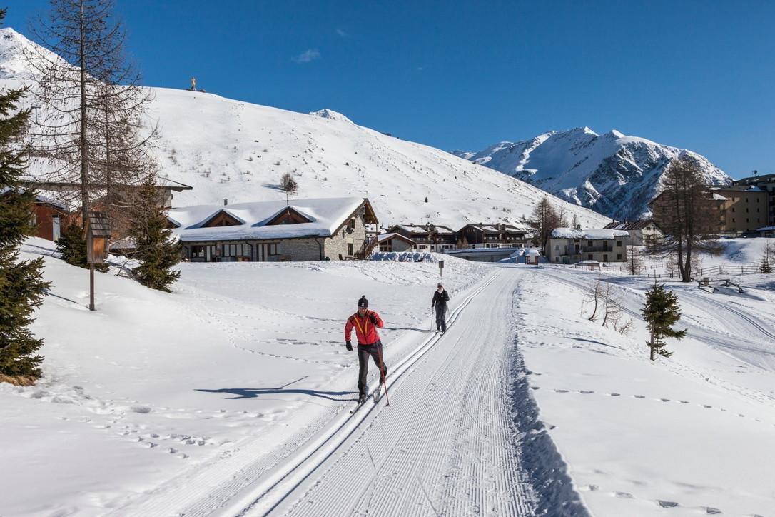 Valtellina, l'ideale per sciare a ritmi slow