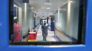 Brescia, il reparto Covid dell'ospedale Poliambulanza