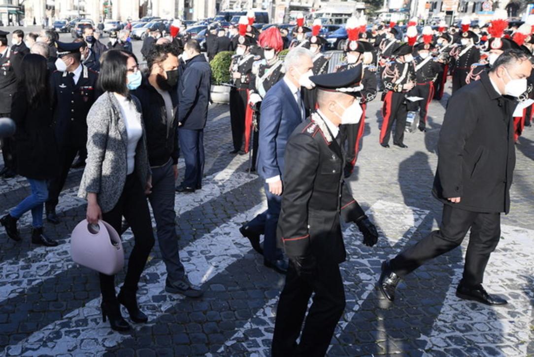 Funerali di Stato per Attanasio e Iacovacci: l'arrivo dei feretri