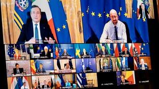 Primo vertice Ue per Mario Draghi premier italiano