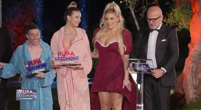 """""""La Pupa e il Secchione e Viceversa"""": Myrea e Marini vincitori"""
