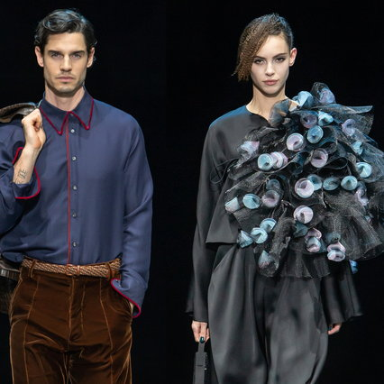 MFW 2021, Giorgio Armani: all the looks of the men's and women's fashion shows