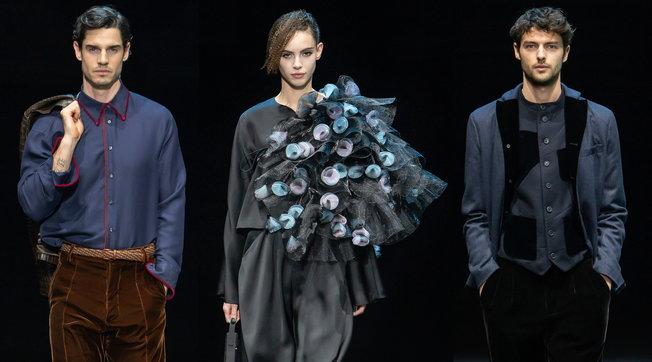 MFW 2021, Giorgio Armani: tutti i look delle sfilate uomo e donna