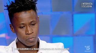 """Dalla guerra alla Serie B, il dramma di Charif Karamoco: """"Io orfano, ho perso mio fratello in un naufragio"""""""