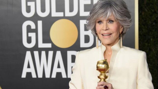 Golden Globe 2021, i beauty look: Jane Fonda e le altre star della serata