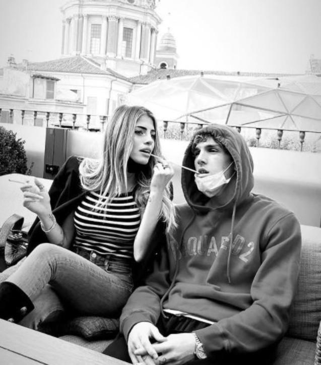 Nicolò Zaniolo e Chiara Nasti insieme, le foto del weekend da innamorati
