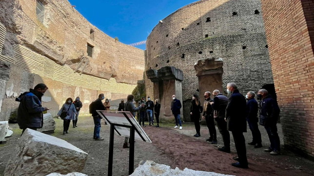 """Roma, dopo 14 anni riapre il Mausoleo di Augusto: """"Restituiamo un gioiello"""""""