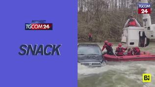 Usa, l'auto finisce nel fiume: a bordo c'è una famiglia di cinque persone