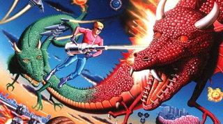 Space Harrier e le lotte feroci contro draghi volanti, teste di pietra e… baobab
