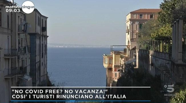 """I turisti stranieri rinunciano alle vacanze italiane : """"Non vengono se non siamo Covid Free"""""""