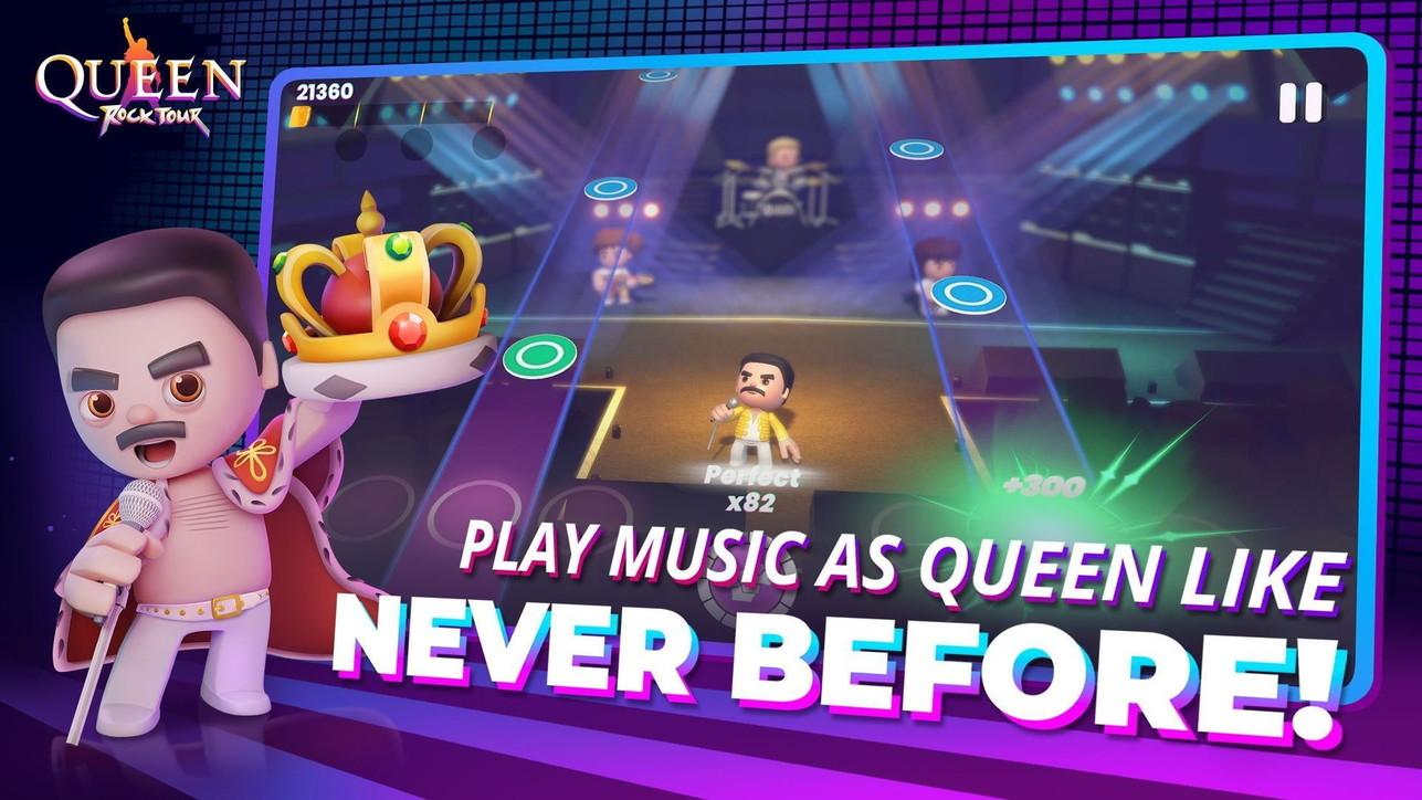Queen: Rock Tour, le foto del nuovo gioco per mobile