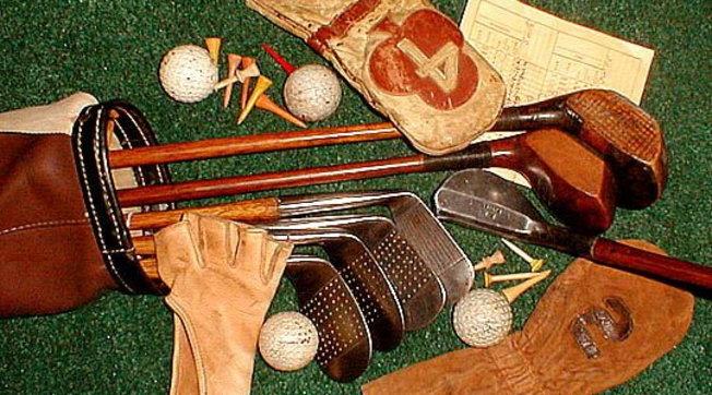 La sacca da golf di cent'anni fa: dal baffie allo jigger
