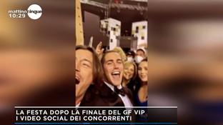 """""""GF Vip"""", sui social la grande festa per Tommaso Zorzi dopo la finale"""