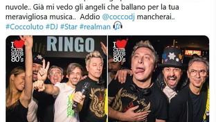 La morte di Claudio Coccoluto: da Simona Ventura a Ringo il cordoglio è social