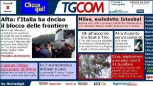 Tgcom24 compie 20 anni: le homepage storiche