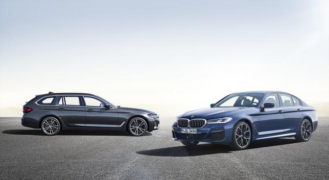 BMW 518d e 530d, le italiane della Serie 5
