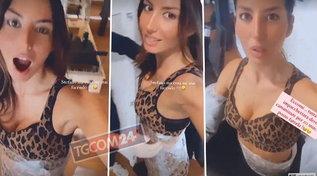 """Elisabetta Gregoraci """"impacchettata"""": dopo l'allenamento, la sorpresa sexy"""