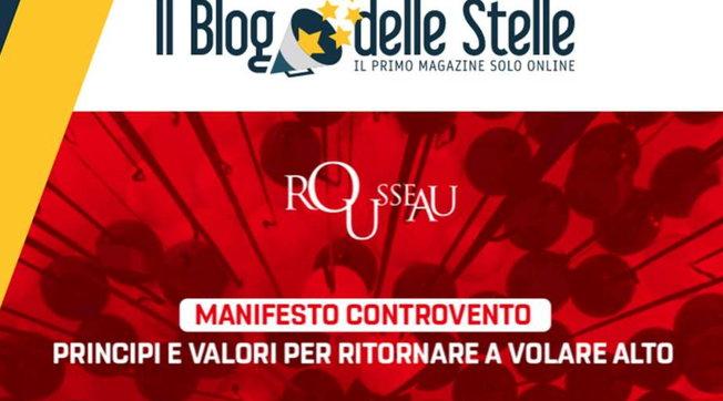 """M5s, Rousseau si mobilita con il Manifesto """"per tornare a volare alto""""  Grillo: Conte onorerà impegno con noi"""