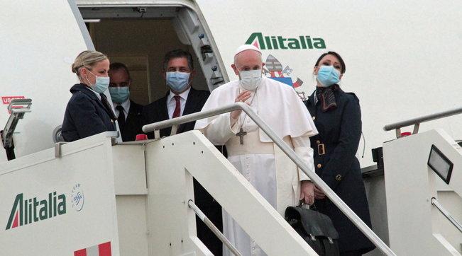 Iniziato il viaggio di Papa Francesco in Iraq