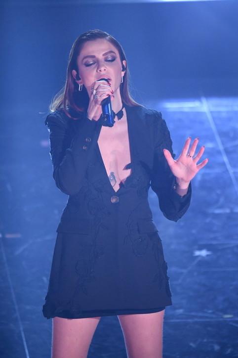 Annalisa sul palco del Festival di Sanremo 2021