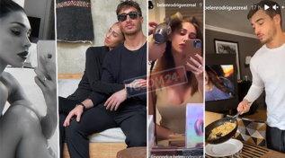 Belen in relax, Antonino cucina e la pettina: è un uomo da sposare