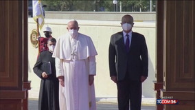Papa Francesco da Baghdad: