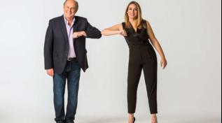 """""""Striscia la notizia"""", Gerry Scotti e Francesca Manzini sono i nuovi conduttori"""