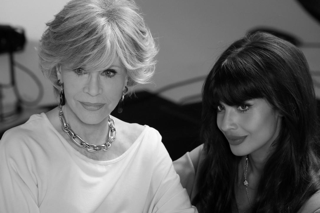 """Giornata internazionale della donna 2021, """"Pomellato For Women"""": Jane Fonda e Jameela Jamil"""