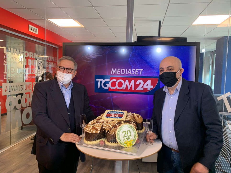 Tgcom24 festeggia i suoi primi 20 anni