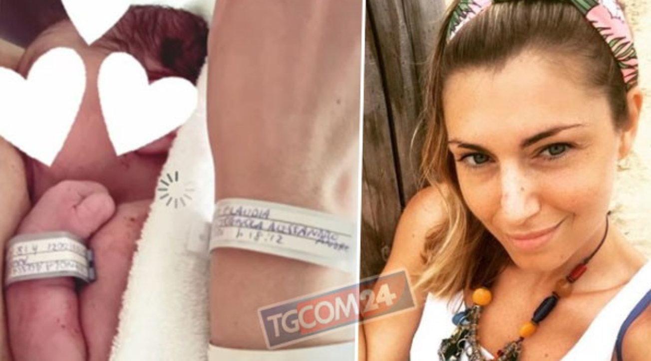 Claudia Andreatti è diventata mamma: fiocco azzurro per la ex Miss Italia