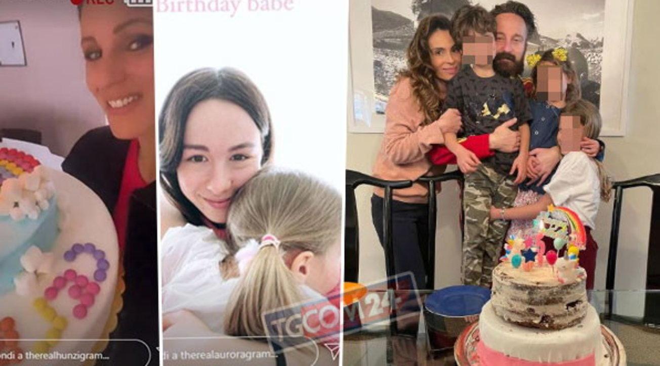 Compleanni da baby-vip: torta fatta in casa e palloncini per Celeste Trussardi e Liv Facchinetti